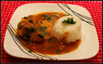 Tangy Tilapia Curry