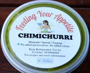 Feeding Your Appetite Chimichurri