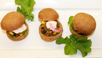 Black Bean & Quinoa Slider