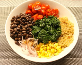 Black Bean and Kale Buddha Bowl