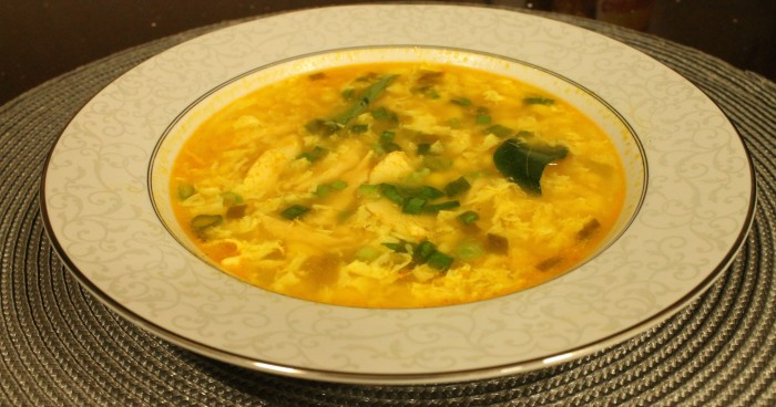 Curried Chicken & Corn Soup