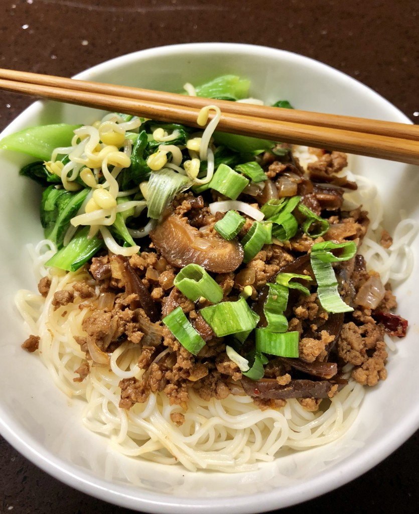 Taiwanese Meat Noodles